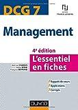 DCG 7 - Management - 4e éd. - L'essentiel en ...