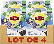 Lipton Infusion Nuit Tranquille, Tilleul, Verveine & Camomille, Capsules Compatibles Nescafé Dolce Gusto 4