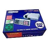 HD retro classic mini console incorporada 600 versiones clásicas diferentes del juego