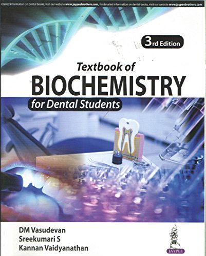 Textbook of Biochemistry for Dental Students