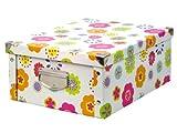 Zeller 17853 Aufbewahrungsbox Kids, Pappe / 40 x 33 x 17