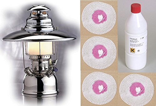 Petroleumlampe Petromax ORIGINAL 500HK KOMPLETTSET Starklichtlampe Laterne
