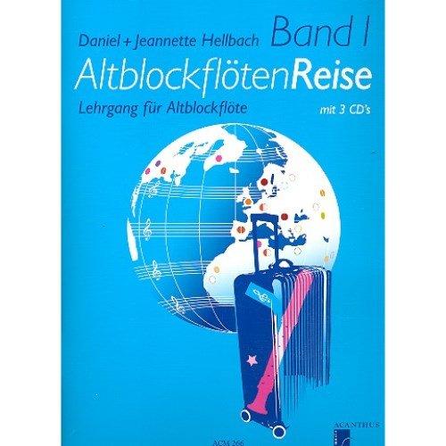 Preisvergleich Produktbild Acanthus Music Altblockflöten Reise Band 1 - für Altblockflöte mit 3 CD's