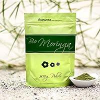 Bio-Moringa, Bio-Moringapulver, 1000g Pulver, 1kg, aus kontrolliert biologischem Anbau, laborgeprüft, Rohkostqualität! preisvergleich bei billige-tabletten.eu