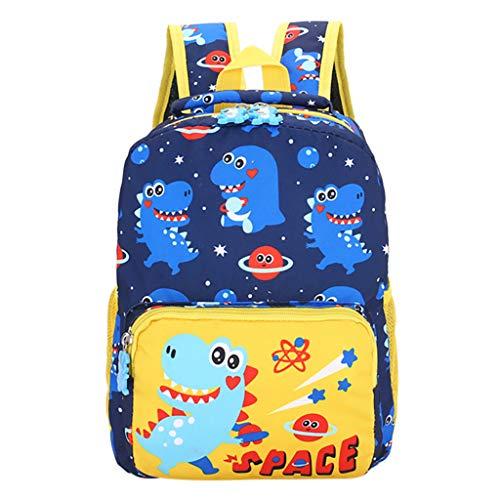 Kindertasche ♡ Kinder Niedlichen Cartoon Tier Student Tasche Rucksack Reiserucksack Mode Schultasche Druck Mädchen Lässig Wasserdicht Backpack Schule Teenager Daypack Oxford (Dunkelblau) Oxford 2 Tasche
