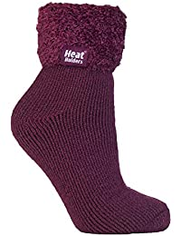 HEAT HOLDERS - 1 Paar Bettsocken Damen Stoppersocken abs antirutsch kuschelsocken socken in 8 farbig 37-42 eur