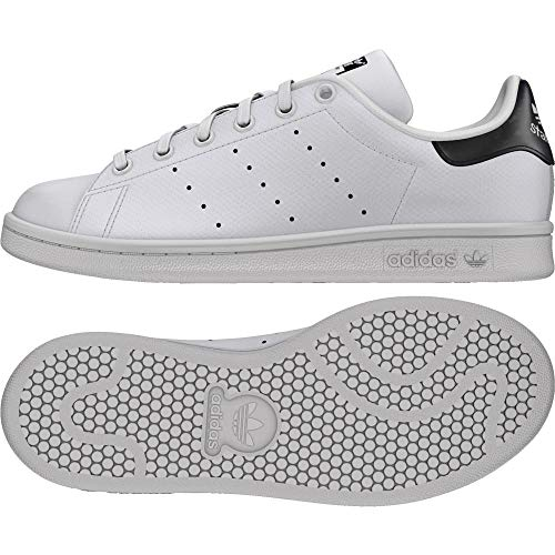 san francisco ab648 d31d1 adidas Stan Smith J, Sneaker Unisex-Bambini, Bianco Ftwr WhiteCore Black