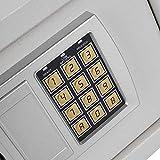 Elektronischer Safe Haushaltswand Elektronische Schlösser Safe Geldschrank Bargeldladen Dokumente Sicherheitsschloss