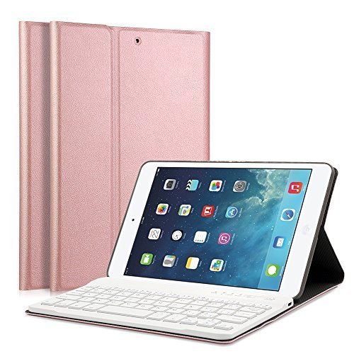 LUCKYDIY iPad Mini 1/2/3 Funda Teclado 7.9