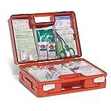 Cassetta pronto soccorso aziendale completa, conforme D.M. 388 e D.L. 81, Allegato 2, contenuto maggiorato