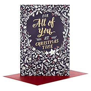 Hallmark All Of You Medium Christmas Card 'Happy New Year'
