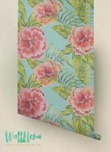 temporal-papel-pintado-extraible-de-adhesivo-mural-hibisco-y-palma-areca-hojas-patron-extraible-wall