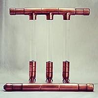Lámpara de cobre hecha a mano - diseño minimalista