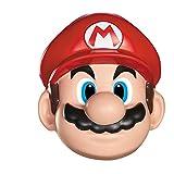 Super Mario 13383–Máscara Mario, rojo, talla única