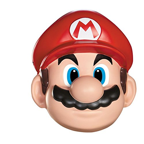 Super Mario Hard Plastic Face Mask