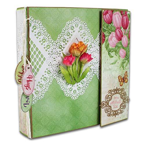 Heartfelt Creations Insta-Album Kraftpapier, 20,3 x 20,3 cm, HCIA2477