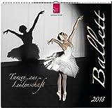 Ballett 2018: Mittelformat-Kalender