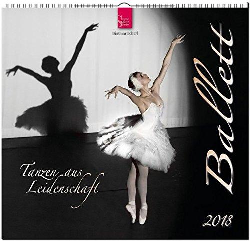 BALLETT: Original Stürtz-Kalender 2018 - Mittelformat-Kalender 33 x 31 cm