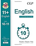 10-Minute Tests for 11+ English Ages 10-11 (Book 2) - For GL & Other Test Providers
