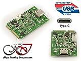 'Kalea–Karte CONTROLEUR Mini PCI Express (MiniPCIe)–USB 3.1(