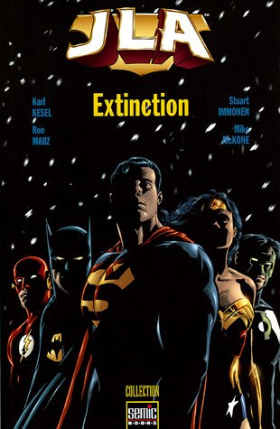 JLA Nouvel ordre mondial : Extinction par Karl Kesel