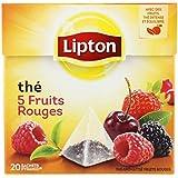 Lipton Thé Aux 5 Fruits Rouges - ( Prix Par Unité ) - Envoi Rapide Et Soignée