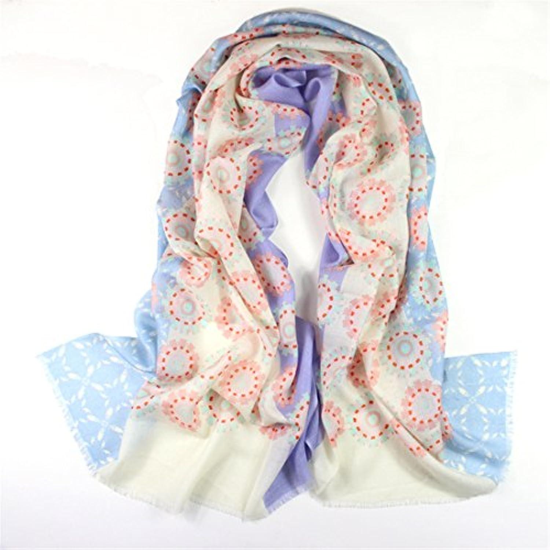 MASTER- Il Cotone Sciarpa Sciarpa Ladies Imitazione Imitazione Lana Lana  Imitazione Sciarpa Dono Lady Invernale cf9b7b467e9