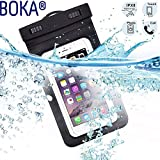 BOKA® Rain & Dust Protection Waterproof Touch Sensitive Mobile Pouch Cover for Any