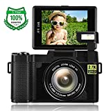 Camera Digital Camera 2.7K 24.0MP WiFi Camera 3.0 Inch Flip Screen Camera Vlogging