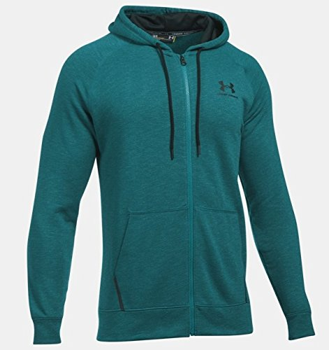 Under Armour ColdGear Sportstyle Trainingskapuzenjacke Herren Petrol/schwarz, MD (Medium) - Coldgear Hoody