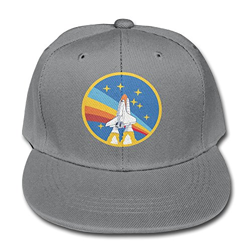 NASA Rocket Youth Unisex verstellbar flach Hat Bill Baseball Mützen Outdoor Sport in...