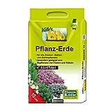 Bio Pflanzerde torffrei für Haus und Garten - 10 Liter - Blumenerde ohne Torf in Bio-Qualität - biologisches Naturprodukt - Kölle's Bio