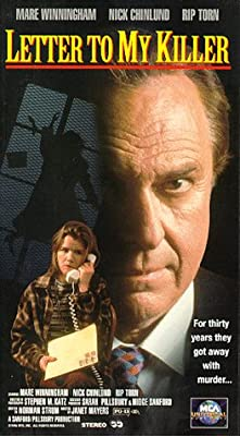 Letter to My Killer [VHS]