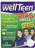 Vitabiotics Wellteen Plus - 56 Tablets/Capsules