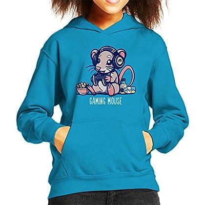 Gaming Mouse Animal Pun Shirt Kid
