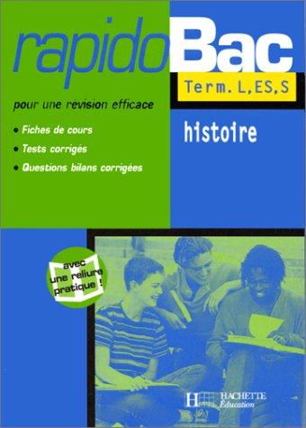Rapidobac : Histoire, Terminale ES, L, S