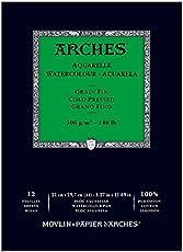Arches Watercolour Block Aquarelle 29.7 x 21 cm, cold pressed