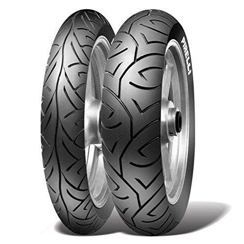 Paire Pneu pneus Pirelli Sport Demon 100/80 - 17 52H 130/70 - 18 63H