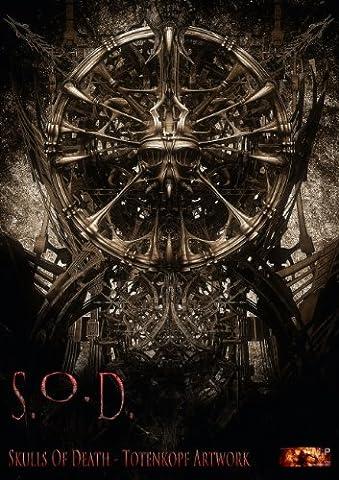 S.O.D. - Skulls Of Death Vol. I - Totenkopf Artworks (Posterbuch DIN A4 hoch)