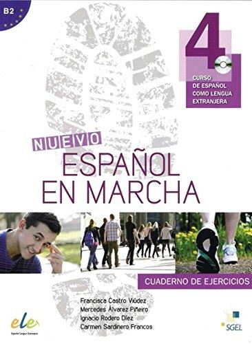 Nuevo Español en marcha 4: Curso de español como lengua extranjera / Arbeitsbuch mit Audio-CD