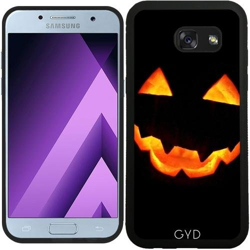 (DesignedByIndependentArtists SilikonHülle für Samsung Galaxy A3 2017 (SM-A320) - Halloween Kürbis by hera56)