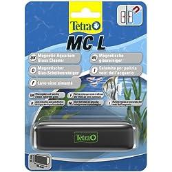Tetra MC Scheibenreiniger Größe L (schwimmender Magnet für Aquarien zum schnelle und gründlichen Reinigen von Aquarienscheiben, geeignet für Becken bis 10 mm Glasstärke)