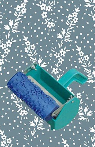 Mikrofaser-wand (home-organizer Tech 12,7cm gemustert Rolle Deko Roller mit Single Farbe Dekoration Malerei Maschine für schaffen Ideen auf Farbe Muster, Grenzen, Wand Aufkleber und dekorative Aufkleber & # xff08; Pflanzen & # xff09;)