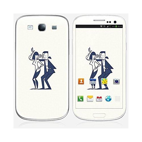 Sticker iPhone 6 et 6S de chez Skinkin - Design original : Shut up and dance par Ale Giorgini Skin Galaxy S3