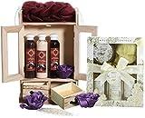 BRUBAKER Cosmetics Bade- und Pflegeset Schokolade & Vanilla Rose Minze 15-teilig