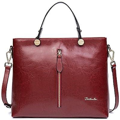 BOSTANTEN Sac à main femme sac besace cuir sac cabas sac tote fille sac cabas bandoulière