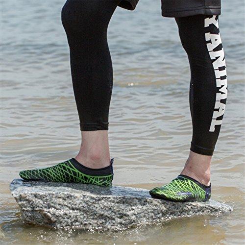 Spiaggia Scarpe Aqua Unisex Nuotare Ginnastica Di Surf Piedi Per Nudi Pelle Eagsouni® 1noir Calzini D'acqua Yoga BWw0vXwqO