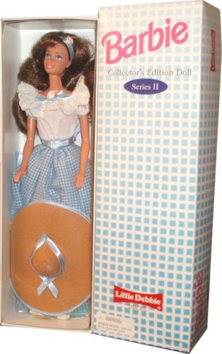 barbie-1995-series-ii-collectors-edition-12-inch-doll-barbie-as-little-debbie-snacks-girl-with-dress