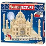 Matchitecture Streichholz-Puzzle 3D Taj Mahal