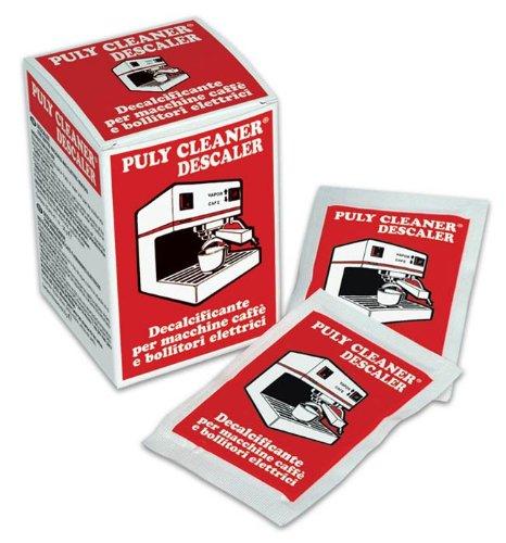 Puly Cleaner Descaler Espresso Coffee Machine 30g Sachet (Pack of 10) 51G2dmVHxvL